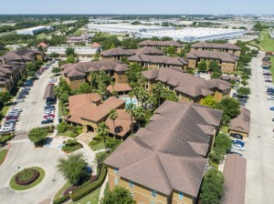 Three Bedroom Apartments for Rent in Northwest Houston, TX -Aerial View of Community (2)